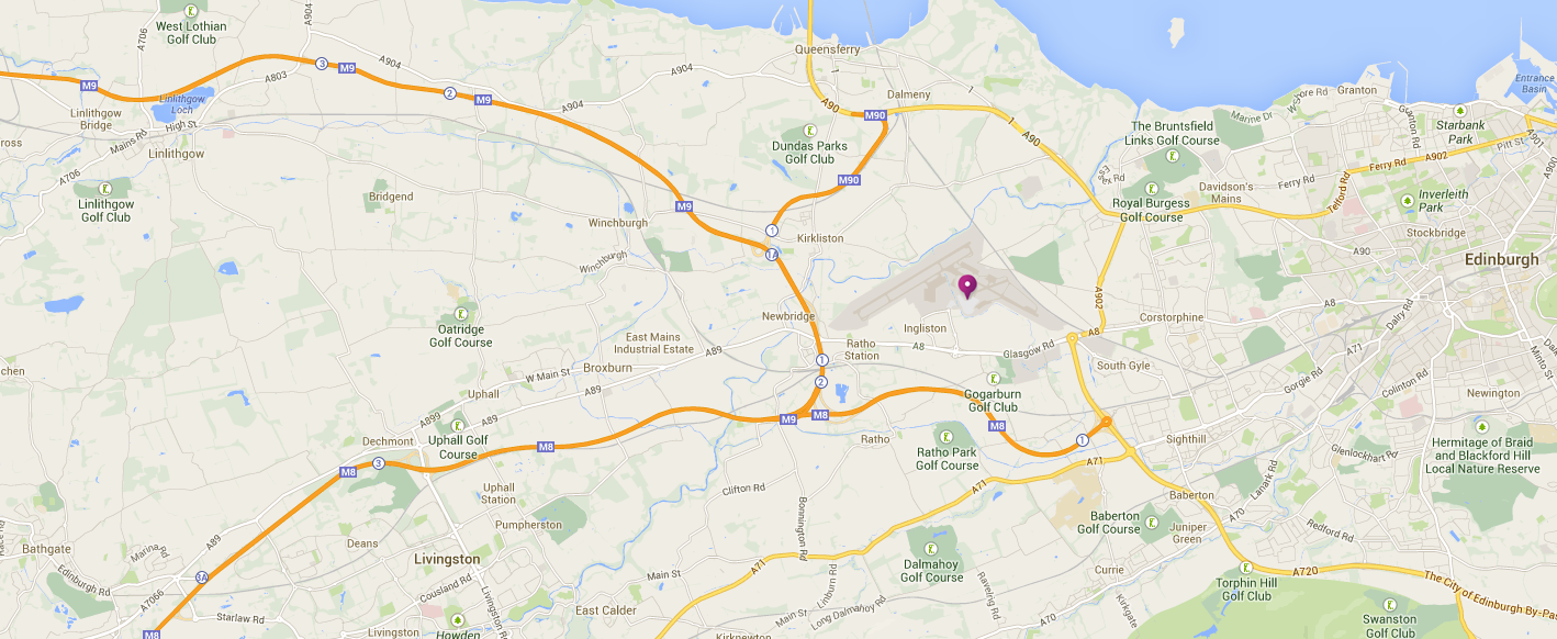 Transport Links Edinburgh Airport